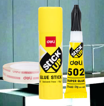 Hot Melt Glue Stick, Gun & Tapes